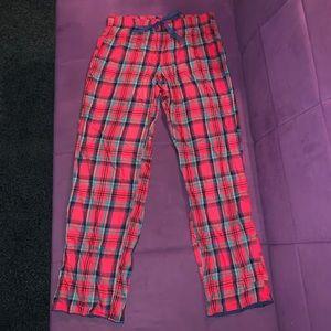 Victoria secret plaid pj bottoms lounge pants 💚